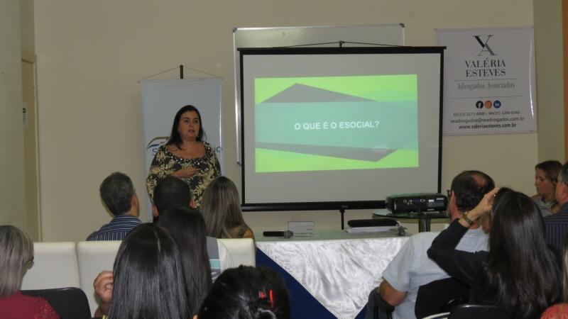 Palestra Reforma Trabalhista e Painel E-social