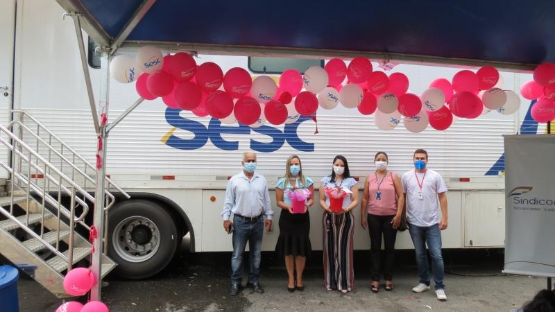 Sindicomércio, SESC, SENAC e Município de Governador Valadares realizam ação para celebrar o Dia da Mulher