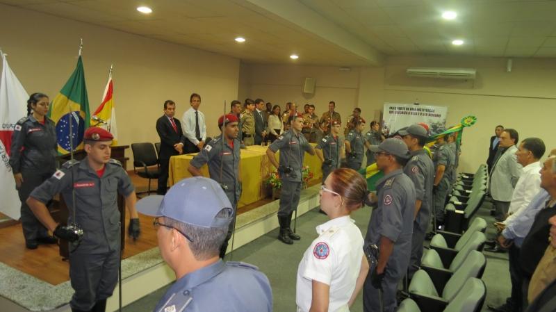 Presidente do Sindicomércio é homenageado pelo Corpo de Bombeiros