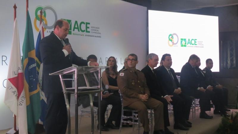 Presidente do Sindicomércio participa do Mérito Empresarial 2019