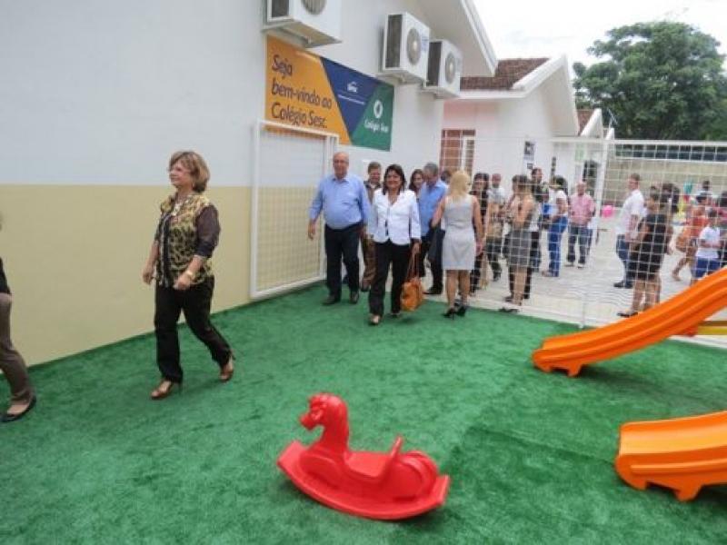 Colégio SESC é inaugurado em Valadares