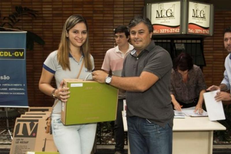 Sindicomércio participa da entrega dos prêmios da Campanha Natal dos Sonhos