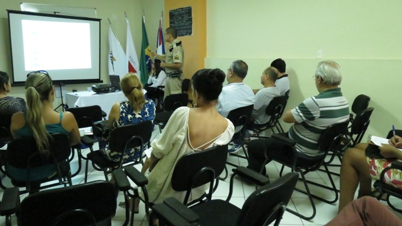 Reunião com empresários da Rede de Comércio Protegido