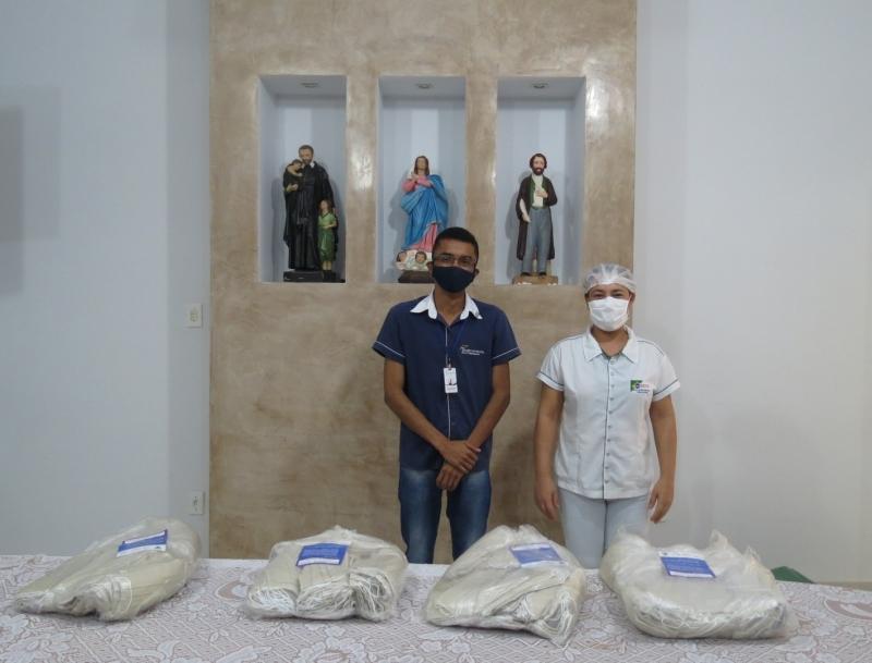 Sindicomércio entrega doação de máscaras de pano às entidades
