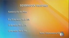 Comércio de Governador Valadares aderem a horário especial para o Dia das mães