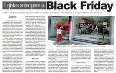 Lojistas antecipam a Black Friday