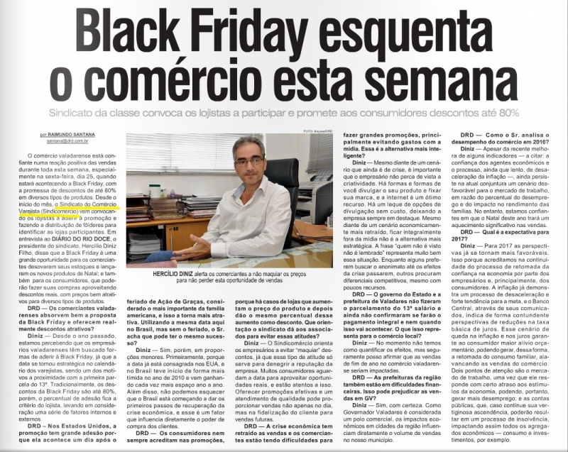 Black Friday esquenta o comércio esta semana